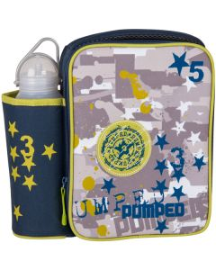 Children's Paintball Lunch Box with Water Bottle