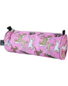 Childrens pencil cases- pink horses