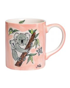 Children's Handpainted Ceramic Mug - Koala