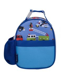 Children's Clip On Lunch Bag - Action Vehicles