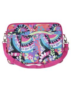 Laptop Case Large - Paisley Punch
