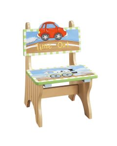 Childrens Wooden Chair - Transport