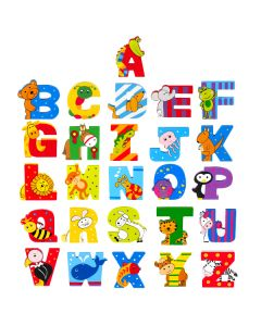 All Wooden Letters