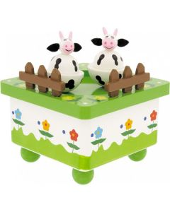 Baby Music box - Dancing Cows - personalisable