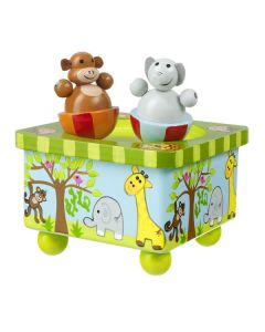 Safari Baby Music Box