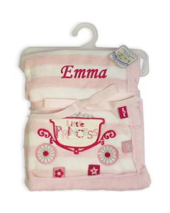 Personalised Baby Girl  Blankets - Little Princess