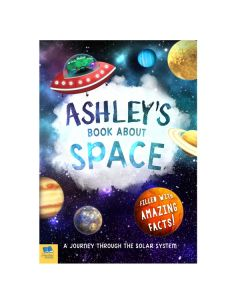 Personalised Space Book for Boys