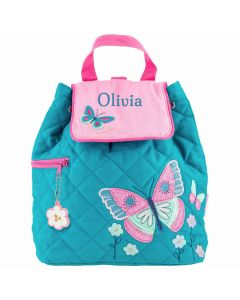 Personalsied Girl Backpack - Butterfly