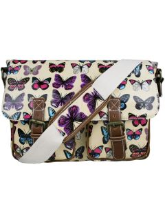 Girls Satchels for school with butterfly