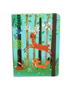 Children's A5 Notebook - Cute Forest Animals