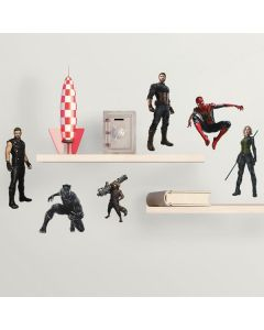 Comic Book Cover Iron Man Wall Stickers