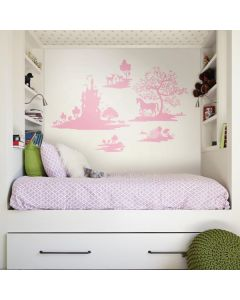Giant Wall Sticker for Girls