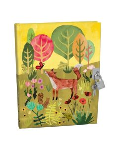 Children's Woodland Fox Lockable Notebook
