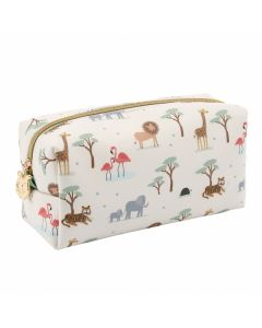 Children's Oilcloth Safari Pencil Case