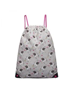 Grey unicorn PE Bags Kids
