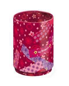 Children's Pencil Pot -Purple Flowers