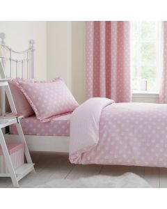 Pink Daisy Duvet Cover Set