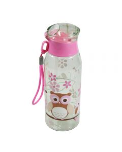 Children's Plastic Water Bottle 500 ml - Owl