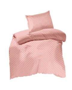 Cot pink Polka Dots Duvet Cotton