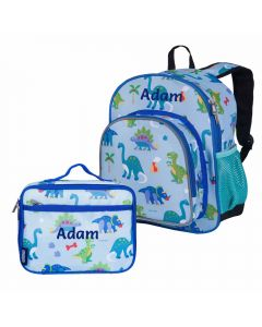 Dinosaur Backpack with lunch bag