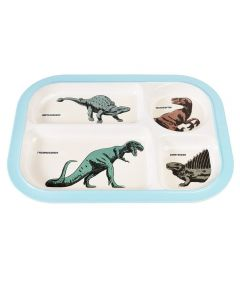 Children's Compartment Tray - Dinosaurs