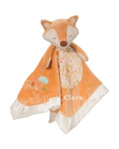 fox personalisable baby comforter