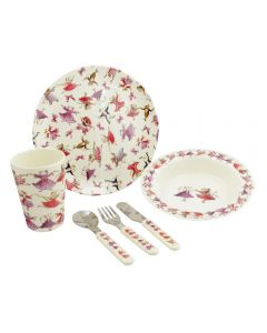 Children's Mice 6 Piece Melamine Dinner Set