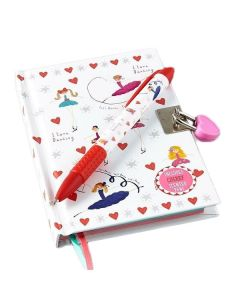 Girl's Ballerina Diary with Scented Pen