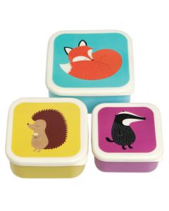 Kids Snack Boxes - Forest Friends