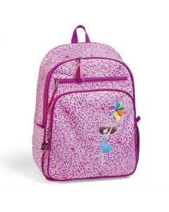 Girl's Pink Petal Backpack