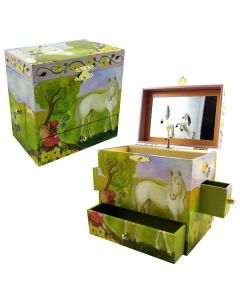 Girls jewellery boxes - horse fairy