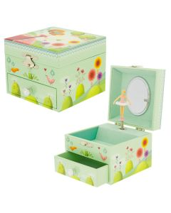 Gilrs jewellery boxes - GARDEN