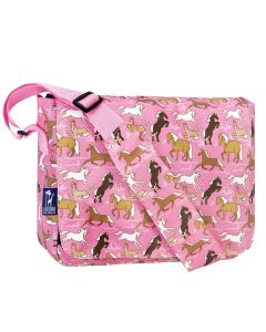 Girls Pink Horses Satchel
