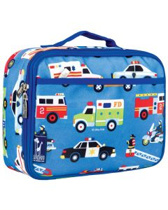 Kids Lunch Box - Action Vehicles