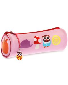 School Owl Pencil Case