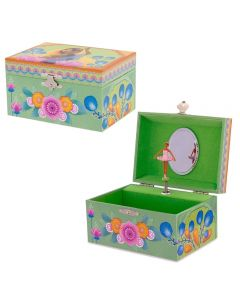 Indian Princess Musical Jewellery Boxes