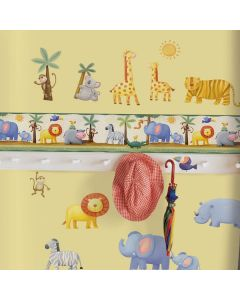 Jungle Self Adhesive Border