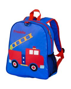 Children's Personalised Backpacks - Fire Engine