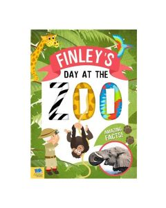 Personalised Day At The Zoo Book