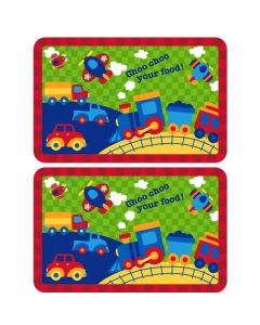 Kids placemats - Transport