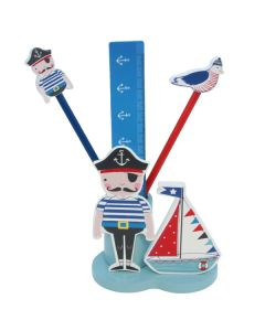 Children's Wooden Pencil Pot - Pirate