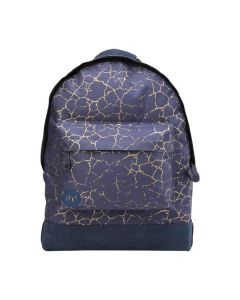 Mi Pac Backpack - Cracked Navy & Gold
