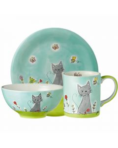 Kids Ceramic Dinner Set
