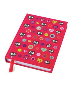 A5 Hardback Notebook - Cat Design