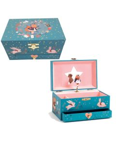 Djeco Musical Jewellery boxes - Miss Squirrel