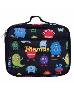 Personalised Lunch Bags - Monster