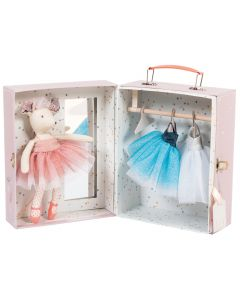 Moulin Roty Ballerina Mouse In Suitcase