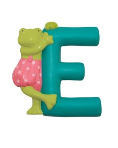 Children's Moulin Roty Resin Door Letters - Teal E