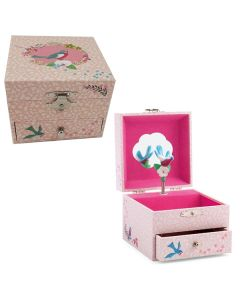 Finch Musical Jewellery Box - Personalisable