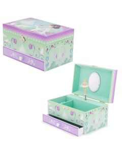 Girls Musical Jewellery Box - Paris in Spring